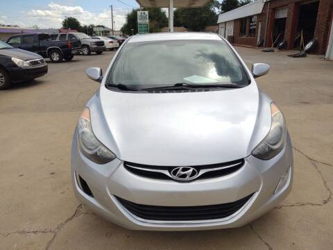 2013 Hyundai Elantra for sale at 4 B CAR CORNER in Anadarko OK