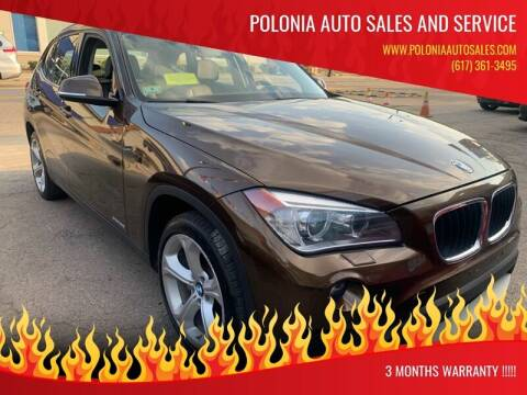 2013 BMW X1 for sale at Polonia Auto Sales and Service in Hyde Park MA