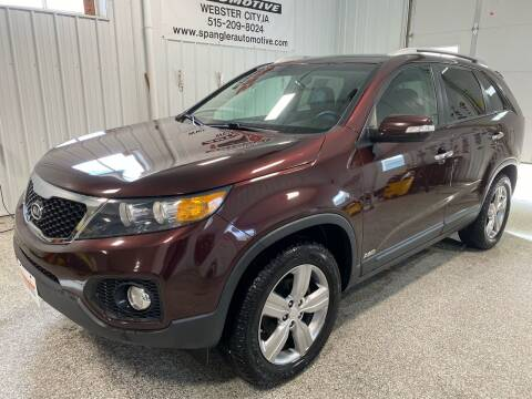 2013 Kia Sorento for sale at SPANGLER AUTOMOTIVE WC LLC in Webster City IA