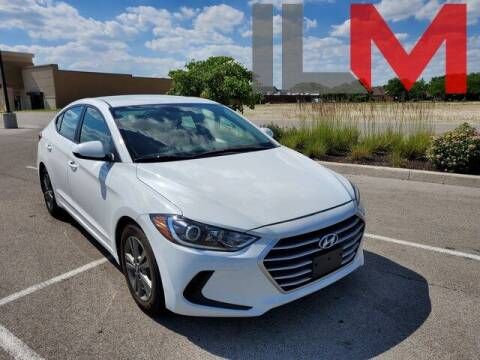 2018 Hyundai Elantra for sale at INDY LUXURY MOTORSPORTS in Fishers IN