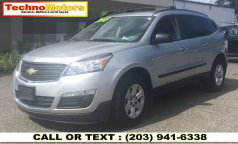 2015 Chevrolet Traverse for sale at Techno Motors in Danbury CT