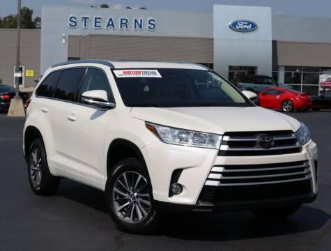 2018 Toyota Highlander for sale at Stearns Ford in Burlington NC