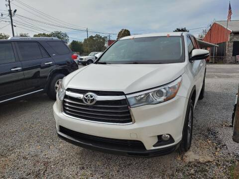 2016 Toyota Highlander for sale at VAUGHN'S USED CARS in Guin AL