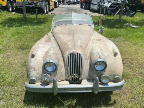 1957 Jaguar Xk140MC Roadster for sale at Gullwing Motor Cars Inc in Astoria NY