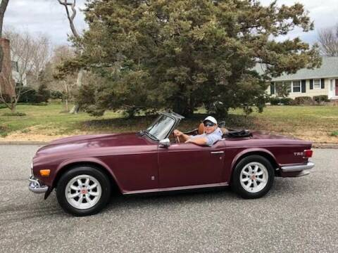 1971 Triumph TR6 for sale at Island Motor Cars in Nesconset NY