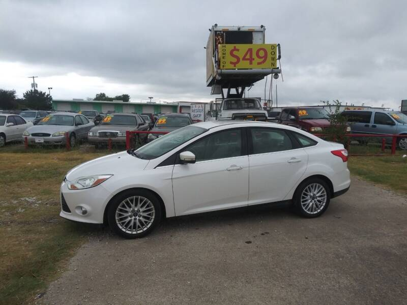 2012 Ford Focus for sale at USA Auto Sales in Dallas TX