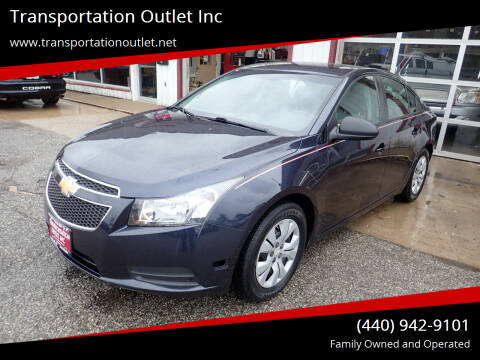 2014 Chevrolet Cruze for sale at Transportation Outlet Inc in Eastlake OH