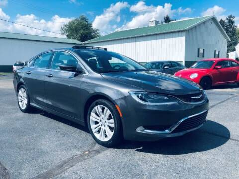 2015 Chrysler 200 for sale at Tip Top Auto North in Tipp City OH