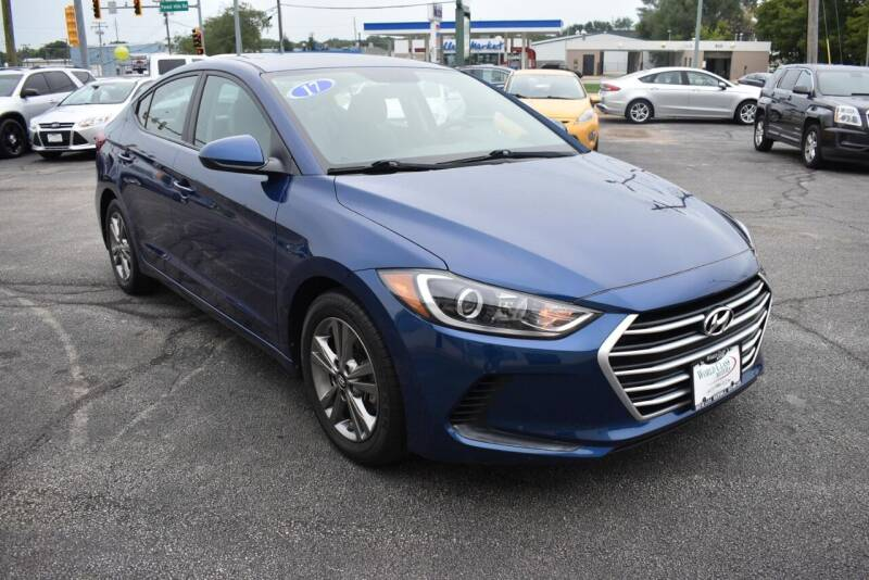 2017 Hyundai Elantra for sale at World Class Motors in Rockford IL
