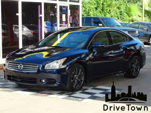 2014 Nissan Maxima for sale at Drive Town in Houston TX