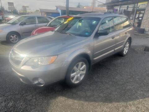 2008 Subaru Outback for sale at Payless Car & Truck Sales in Mount Vernon WA