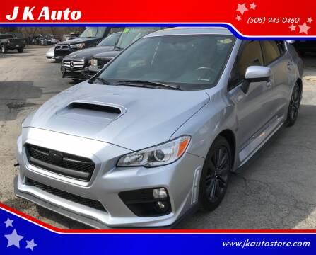 2017 Subaru WRX for sale at Webster Auto Sales in Webster MA