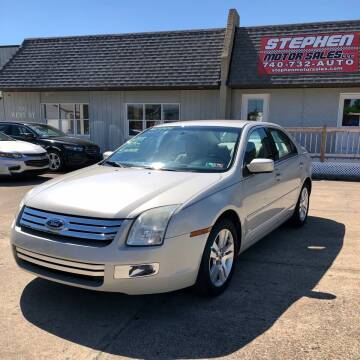 2008 Ford Fusion for sale at Stephen Motor Sales LLC in Caldwell OH