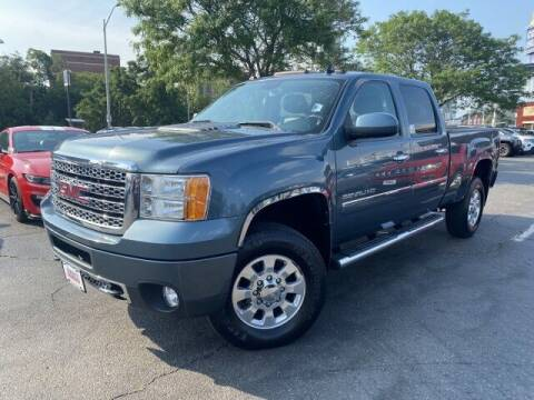 2011 GMC Sierra 2500HD for sale at Sonias Auto Sales in Worcester MA