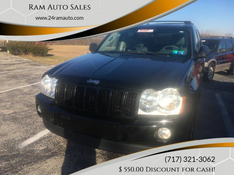 2006 Jeep Grand Cherokee for sale at Ram Auto Sales in Gettysburg PA