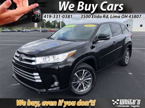 2019 Toyota Highlander for sale at White's Honda Toyota of Lima in Lima OH