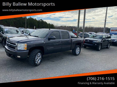 2010 Chevrolet Silverado 1500 for sale at Billy Ballew Motorsports in Dawsonville GA