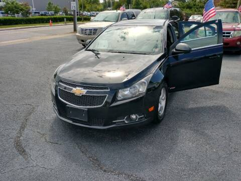2012 Chevrolet Cruze for sale at Dad's Auto Sales in Newport News VA