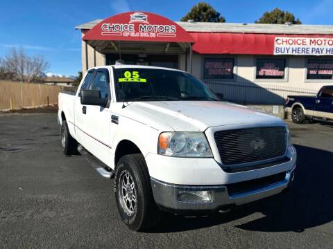 2005 Ford F-150 for sale at Choice Motors of Salt Lake City in West Valley  City UT