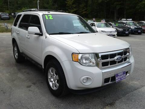 2012 Ford Escape for sale at Quest Auto Outlet in Chichester NH