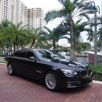 2013 BMW 7 Series for sale at Choice Auto in Fort Lauderdale FL