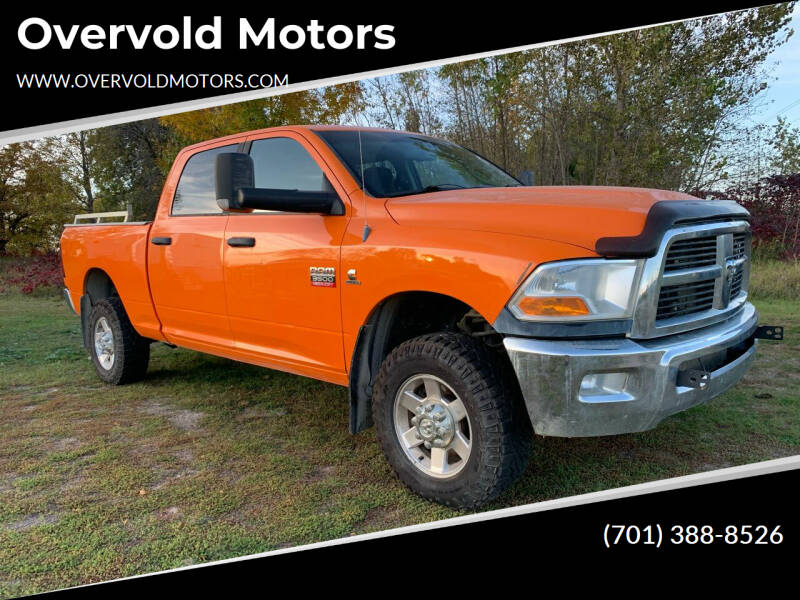 2012 RAM Ram Pickup 3500 for sale at Overvold Motors in Detroit Lakes MN
