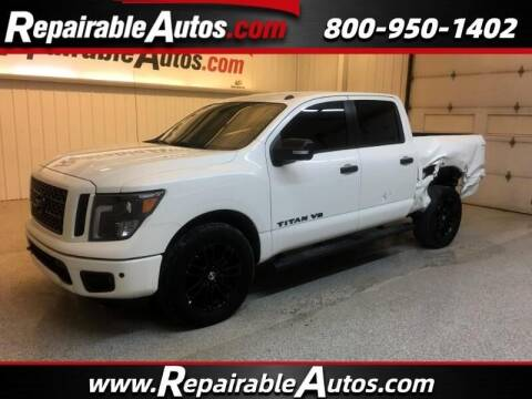 2019 Nissan Titan for sale at Ken's Auto in Strasburg ND