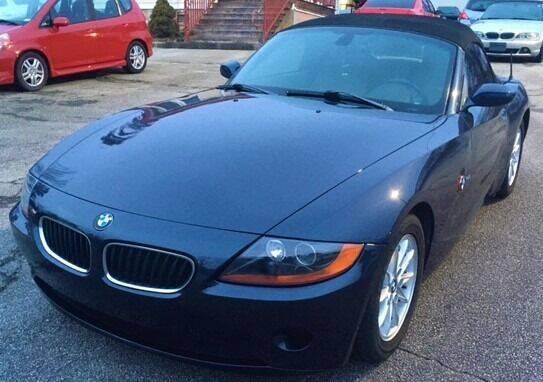 2004 BMW Z4 for sale at BG Auto Inc in Lithia Springs GA