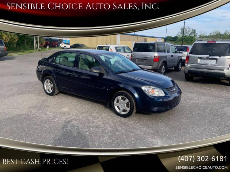 2008 Chevrolet Cobalt for sale at Sensible Choice Auto Sales, Inc. in Longwood FL