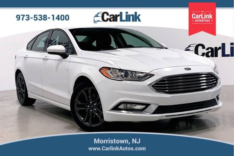 2018 Ford Fusion for sale at CarLink in Morristown NJ