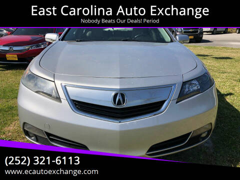 2012 Acura TL for sale at Greenville Motor Company in Greenville NC