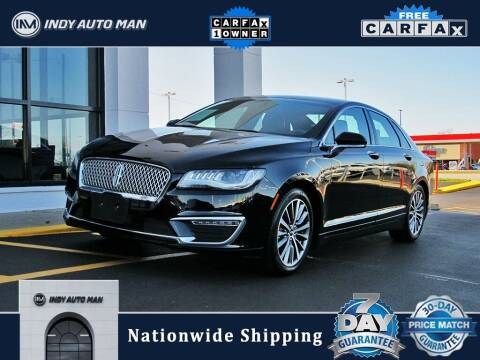 2018 Lincoln MKZ Hybrid for sale at INDY AUTO MAN in Indianapolis IN