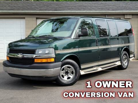 2005 Chevrolet Express Cargo for sale at Riverfront Auto Sales in Middletown OH