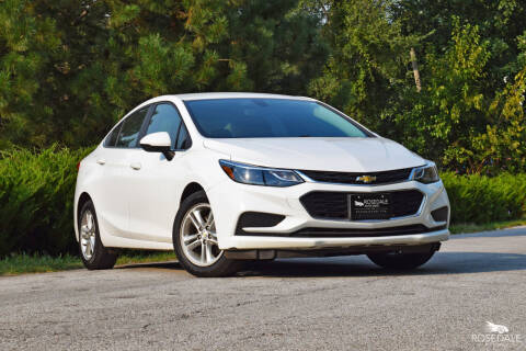 2017 Chevrolet Cruze for sale at Rosedale Auto Sales Incorporated in Kansas City KS