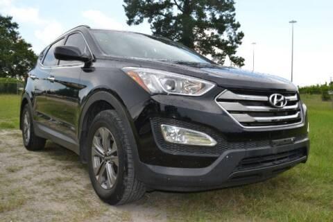 2016 Hyundai Santa Fe Sport for sale at WOODLAKE MOTORS in Conroe TX