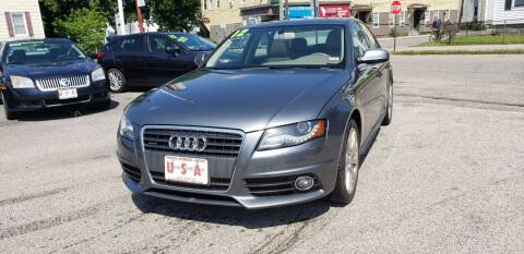 2012 Audi A4 for sale at Union Street Auto in Manchester NH