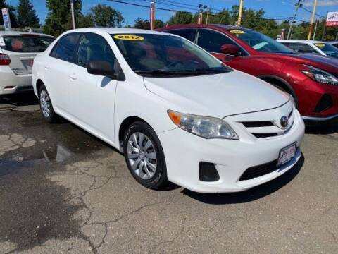 2012 Toyota Corolla for sale at PAYLESS CAR SALES of South Amboy in South Amboy NJ