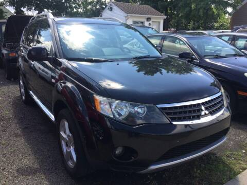2009 Mitsubishi Outlander for sale at Charles and Son Auto Sales in Totowa NJ