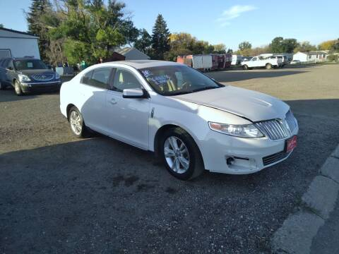 2010 Lincoln MKS for sale at Ron Lowman Motors Minot in Minot ND