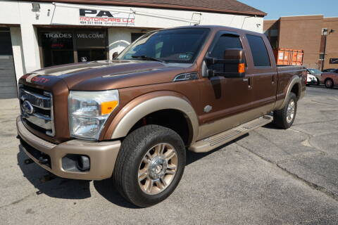2011 Ford F-250 Super Duty for sale at PA Motorcars in Conshohocken PA