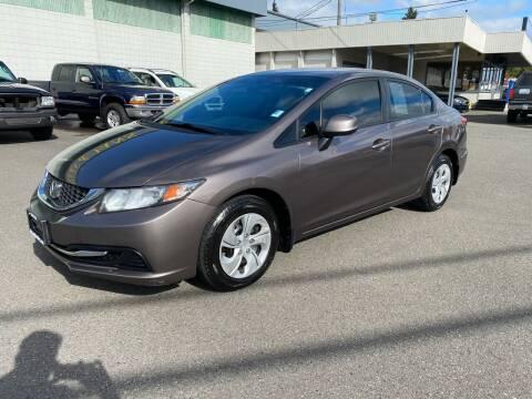 2013 Honda Civic for sale at Vista Auto Sales in Lakewood WA