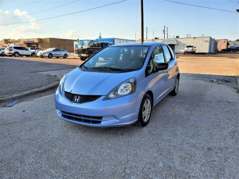 2010 Honda Fit for sale at Image Auto Sales in Dallas TX