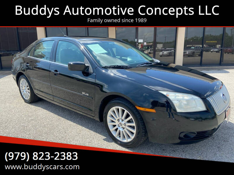 2008 Mercury Milan for sale at Buddys Automotive Concepts LLC in Bryan TX