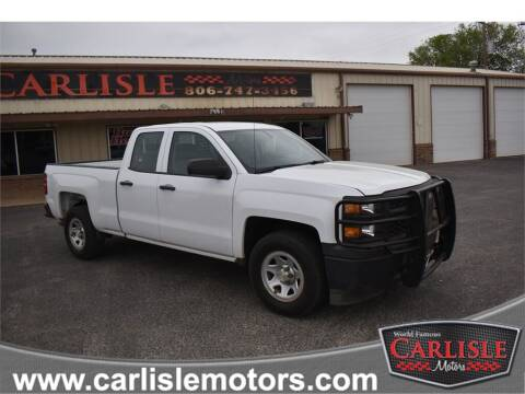 2015 Chevrolet Silverado 1500 for sale at Carlisle Motors in Lubbock TX