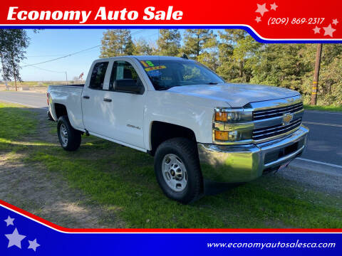 2018 Chevrolet Silverado 2500HD for sale at Economy Auto Sale in Modesto CA