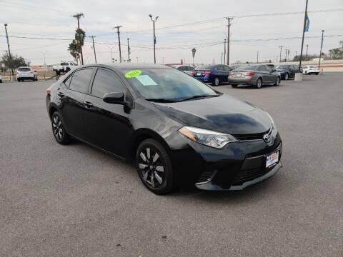 2016 Toyota Corolla for sale at Mid Valley Motors in La Feria TX