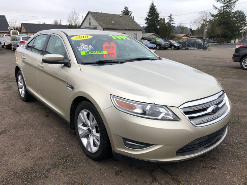 2010 Ford Taurus for sale at Freeborn Motors in Lafayette, OR