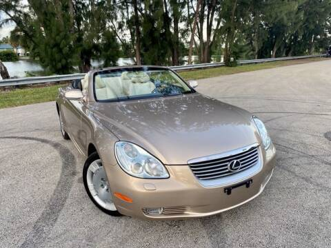2002 Lexus SC 430 for sale at Exclusive Impex Inc in Davie FL
