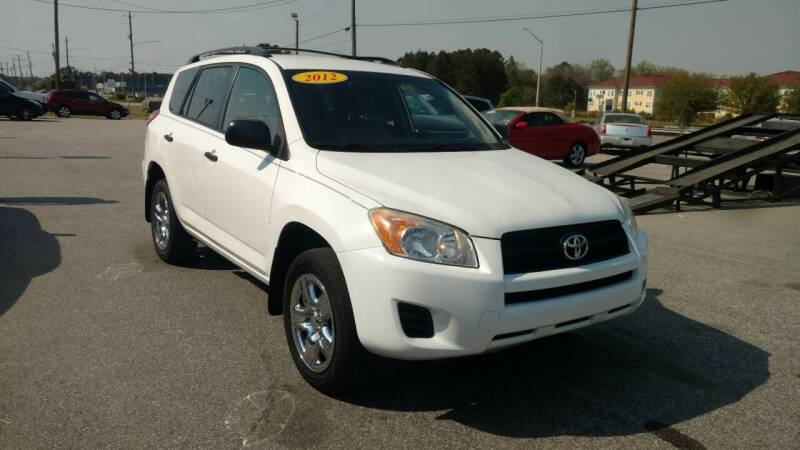 2012 Toyota RAV4 for sale at Kelly & Kelly Supermarket of Cars in Fayetteville NC