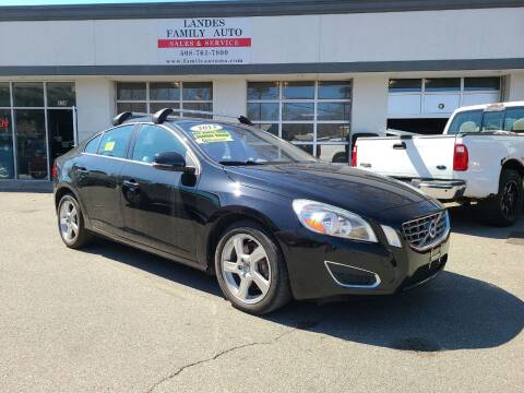 2013 Volvo S60 for sale at Landes Family Auto Sales in Attleboro MA